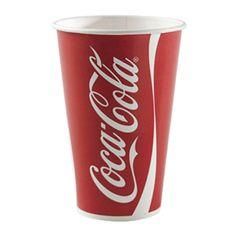 Coca Cola bägare Original stor 0,5 liter 10 st - Dryckesglas.se