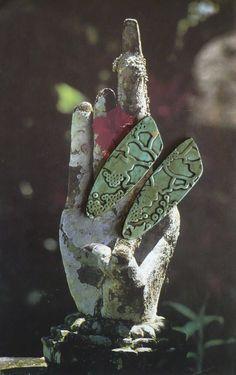 LOT DE 2 PIECES POUR BOUCLES D'OREILLES - BOHEME - ARGILE POLYMERE - FUJIGIRLS : Accessoires pour bijoux par atelier-fujigirls
