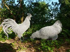 Wire Sculpture by Helen Godfrey Beauty