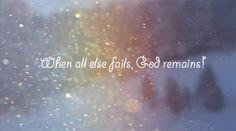 Don't make prayer you last resort