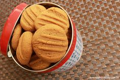 Biscoito de pasta de amendoim