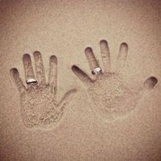 How cute! Honeymoon idea