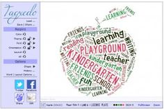 word clouds!  great poetry extension that helps young writers create their own shape poems
