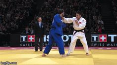 "juji-gatame: "" Just look at the (probably) best Ippon-seoi-nage of the year! It was in the Grand Slam of Paris… in the -90kg category! """