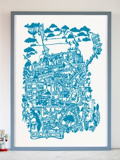 Famille Summerbelle paper cut artwork