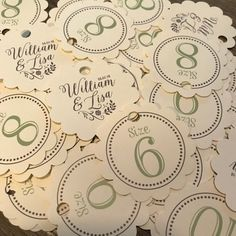 5218fd01d71171 Flip Flop Size Tags Flip Flops for Wedding Guests Sign