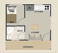 1 bedroom granny flat floor plans - Google Search
