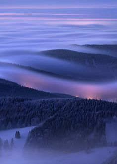Evening over inversions by Daniel Rericha