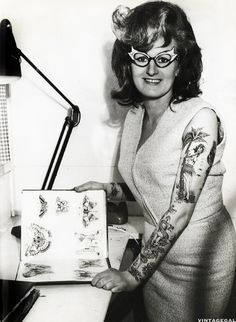 ... tattoos tattoos ink neat tattoos 1960s tattoo cindy ray artist cindy