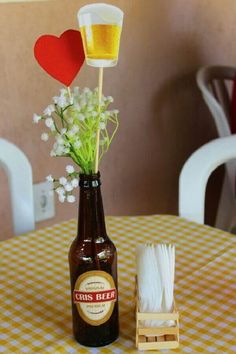 best interior decor in town. House Party Decorations, Birthday Decorations, Ideas Decoracion Cumpleaños, Happy New Home, Diy Bar, 40th Birthday Parties, Its My Bday, How To Make Beer, Hot Sauce Bottles