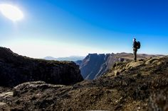 Book your slackpacking trail today with Witsieshoek Mountain Lodge in the Drakensberg, South Africa - Dirty Boots Free State, Kwazulu Natal, Adventure Activities, Hiking Trails, The Great Outdoors, Monument Valley, South Africa, Tours, Mountains