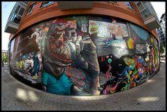 DA MENTAL VAPORZ http://www.widewalls.ch/artist/dmv/ #graffiti