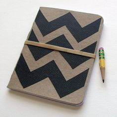 Chevron Little Book from @robyn #etsy #robayre