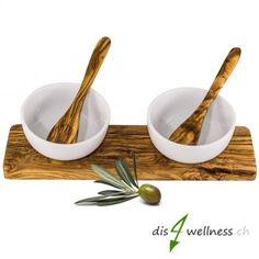 Olivenholz Dipschalen Set Sushi, Snacks, Salad, Kitchen, Wood, Tapas Food, Baking Center, Appetizers, Cooking