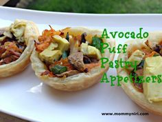 Avocado puff pastry appetizers (RECIPE)! See more on MommyNiri.com