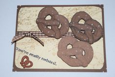 You're Really twisted words only  Sells for 4.99 Retired  Sold separately are the other items used in the examples. Too Much Fun Rubber Stamps . You can purchase all items in my ebay store: Pat's Rubber Stamps & Scrapbooks, Click on the picture & see the listing , or call me 423-357-4334 with order, We take PayPal. You get FREE SHIPPING ON PHONE ORDERS of $30.00 or more. If it says sold I have more. Use my search engine to find the items you are interested in