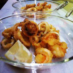 Fritura de pescado para el vermút del Domingo :)