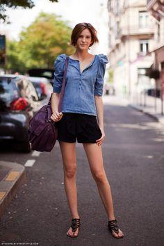 I like her blouse