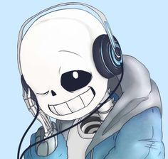 😍 sans is my FAVOR undertale character 😊💀🎧