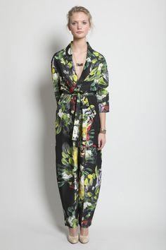 TOTOKAELO - Henrik Vibskov - Marlou Jumpsuit - Paint Print Floral