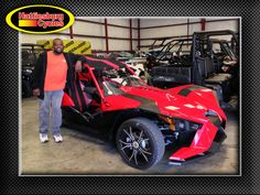 Thanks to the Parker family from Okolona MS for getting a 2015 Polaris Slingshot SL @HattiesburgCycles