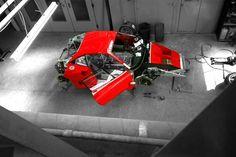 フェラーリF40 LM/GTEの制作風景 | 【フェラーリ情報】Ferrari Information
