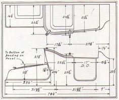 1923 model t dimensions