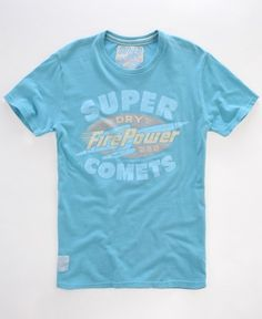 Superdry Tin Tab Comets T shirt