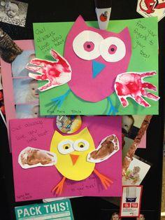 Owl craft.