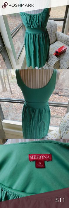 Spring dress Pretty, soft, comfy dress. Excellent condition. Merona Dresses Midi