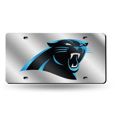 Carolina Panthers NFL Laser Cut License Plate Tag