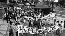 Demonstratie Schiedam 1976