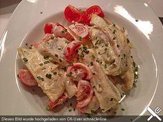 Maultaschen in Käse-Sahnesoße, ein tolles Rezept aus der Kategorie Pasta & Nudel. Bewertungen: 7. Durchschnitt: Ø 3,7.