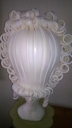 Marie Antoinette Foam wig by Lady Mallemour Foam Design
