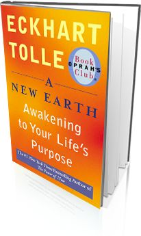 A New Earth by Eckhart Tolle - Change the way you perceive the world, live, and interact with others by choosing to live every moment of every day - in the moment.