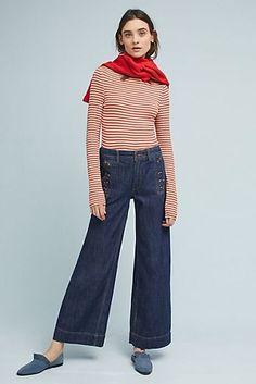 Pilcro Starboard Wide Leg Jeans