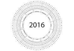 vector calendario 2016 - Buscar con Google