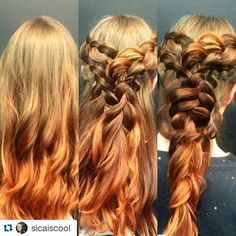 www.foxdensalon.com - #Repost @sicaiscool  Build and build because sometimes more is more. I think nothing sets off a beautiful new color like a fun creative updo especially using braids.  #hair #updo #hairinspiration #nofilterhaircolor #braids #beauty  #foxdensalon #minneapolis #hairstylist #dyedgirls #dyeddollies #pinterest #mplshair #lifeofastylist #professionalhairstylist #beautylaunchpad #fiidnt #wickedfiidnt