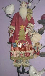 Bonecas Decor: Papai Noel