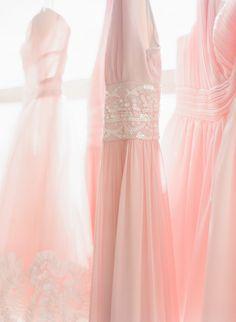 pink bridesmaids dresses /  The McCartneys Photography