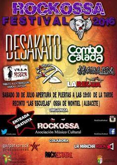 RockOssa - Festival 2016 - 30 de Julio 2016