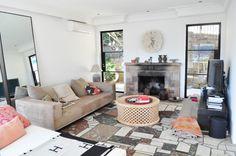 Heidi Middleton's amazing Palm Beach home, love those doors, the juju, the lounge, the mirror... Ok everything!!