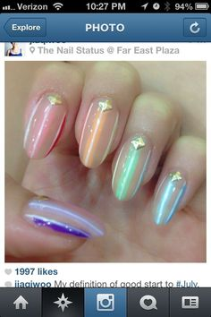 Amazing Star Trek Nail Design