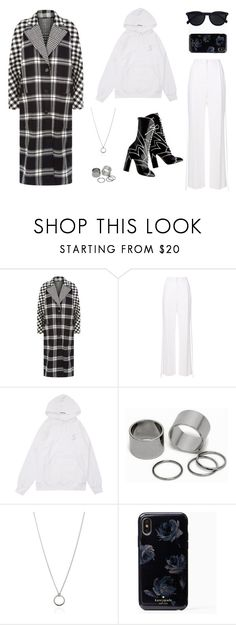 """""""honest"""" by saralr164 on Polyvore featuring Burberry, Givenchy, 3M, Pieces, FOSSIL and Le Specs"""