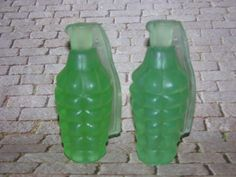 GLYCERINE SOAP HAND GReNADE Green Apple by SCENTSOFHUMORCANDLES, $4.50