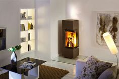 Spartherm Piko S - Holz-Kaminofen Farrow And Ball Living Room, Furniture, Wood Stoves, Home Decor, Modern Condo, Wood Burning Stoves, Homemade Home Decor, Wood Burning Stoves Uk, Home Furnishings