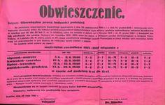 Zdolni do pracy- obwieszczenie obowiązku pracy dla Polaków i konieczności zgłoszenia się na badania. Kraków 28 maja 1940 r. Arch. Narodowe w Krakowie, Zbiór afiszy i plakatów, sygn. 29/665/2841