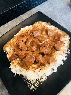Beef Tips Beef Tip Recipes, Easy Meat Recipes, Beef Tips, Slow Cooker Recipes, Crockpot Recipes, Cooking Recipes, Sirloin Tips, Supper Recipes, Ground Beef Dishes