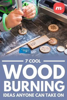20 Amazing Wood Burning Ideas and Tips - Woodburning, also known as pyrography, involves drawing an image on wood with a woodburning pen. Wood Burning Tips, Wood Burning Techniques, Wood Burning Crafts, Wood Burning Patterns, Wood Crafts, Wood Burning Projects, Wood Burn Designs, Wood Design, Easy Woodworking Projects