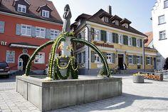 Bilder der Osterbrunnen in Tettnang 2015   Veranstaltungen am Bodensee